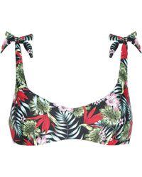 06636c8066cf5 Calzedonia - Eva Bikini Top With Shoulder Bows - Lyst. Calzedonia - Carla  Paisley Bikini Bottom ...
