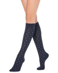 Calzedonia - Tall Patterned Socks - Lyst