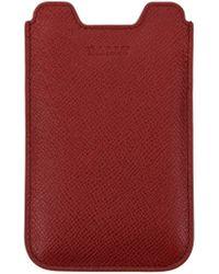 Bally Selfphone Cover Branto Men - Red