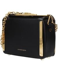 11326a7a1dd2 Alexander McQueen - Crossbody Bag Seta Lux Women Black - Lyst