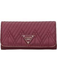Guess Wallets Eddie Women Violet