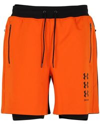 0c28de8bfd Palm Angels Under Armour X Shorts in Orange for Men - Lyst