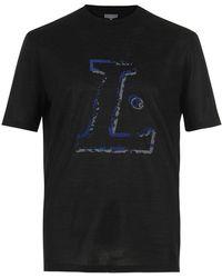 Lanvin - L Print T-shirt - Lyst