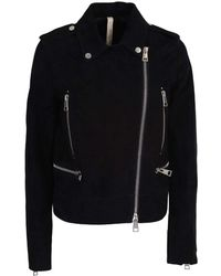 Unfleur - Suede Split Leather Jacket - Lyst