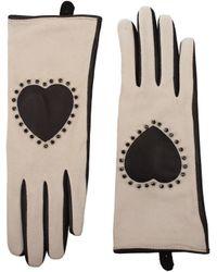 Twin Set - Gloves Women Gray - Lyst