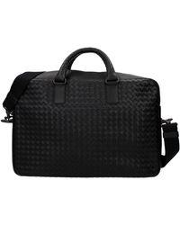 Bottega Veneta - Work Bags Men Black - Lyst