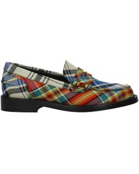 f7bc22b87 Burberry - Loafers Women Multicolour - Lyst