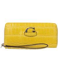 Guess Wallets Lexxi Slg Women Yellow
