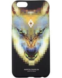 Marcelo Burlon Iphone Cover Iphone 6/6s Men Yellow