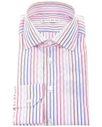 Etro - Striped Shirt - Lyst