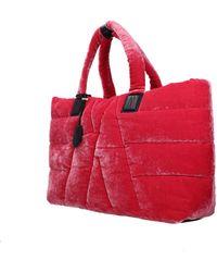 Moncler - Shoulder Bags Powder Women Fuchsia - Lyst
