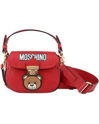 Moschino - Teddy Hidden Lock Bag - Lyst