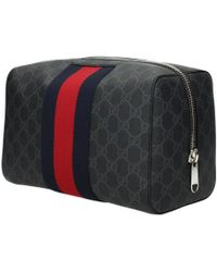 d4873b558a50dc Gucci Guccissima Leather Jewelry Case in Brown for Men - Lyst