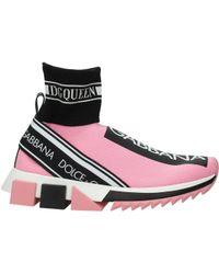 858e07730d Dolce & Gabbana - Sneakers Women Pink - Lyst