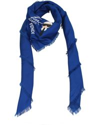 Fendi Foulard Karlito Women Blue