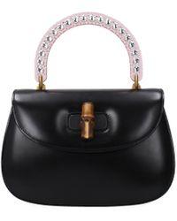 Gucci - Handbags Bamboo Women Black - Lyst