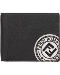 Fendi - Wallets Men Grey - Lyst