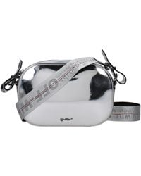 Off-White c/o Virgil Abloh - Backpacks And Bumbags Women Silver - Lyst