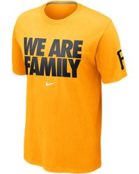 Nike Mens Shortsleeve Pittsburgh Pirates Tshirt - Lyst