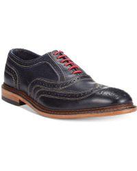 Allen Edmonds Neumok Wing-tip Shoes - Lyst