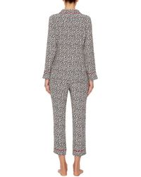 Piamita - M'o Exclusive Annette Trousers In Amorcitos Blanco - Lyst