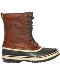 Sorel Premium T Leather Boots - Lyst