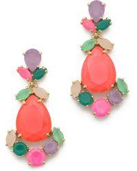 Kate Spade Chandelier Earrings - Multi - Lyst