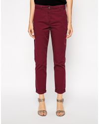 Asos Simple Chino Pants - Lyst