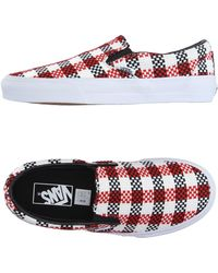 Vans   white Low-tops & Trainers   Lyst