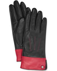 Lauren by Ralph Lauren Two Tone Thinsulate Glove - Lyst