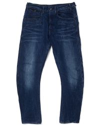 The Idle Man G Star Jeans Davin Tapered Fit Medium Aged blue - Lyst