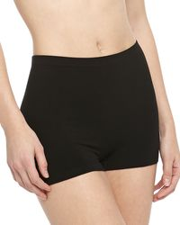 Cosabella Freedom Seamless Shorts Black Largexlarge - Lyst