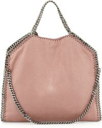 Stella McCartney Falabella Fold-over Tote Bag - Lyst