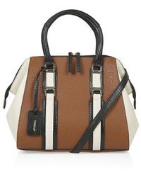 Topshop Smart Holdall - Lyst