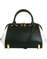 Zac Zac Posen Daphne Leather Colorblock Satchel - Lyst