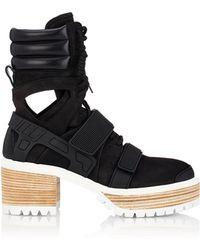 Hood By Air - 60mm Suede & Leather Boots - Lyst