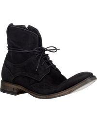 John Varvatos Fleetwood Wingtip Boots - Lyst