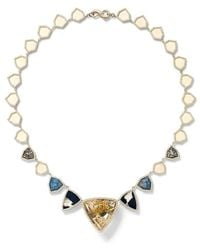 Monique Pã©an Multi-Stone Necklace Multi-Stone Necklace - Lyst