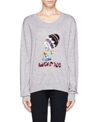 Markus Lupfer Aquarius Sequin Sweater - Lyst