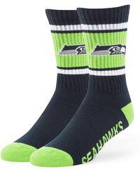 47 Brand - 'seattle Seahawks - Duster' Crew Socks - Lyst