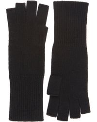 Barneys New York Extendedcuff Fingerless Gloves - Lyst