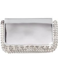 Paco Rabanne Chain Mail Leather Shoulder Bag - Lyst
