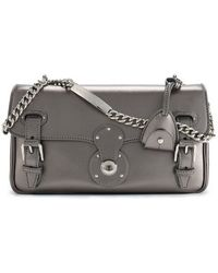 Ralph Lauren Metallic Ricky Chain Bag - Lyst