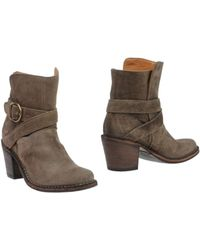 Fiorentini + Baker Brown Ankle Boots - Lyst