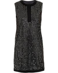 Diane Von Furstenberg Felicia Cupped Sequin Dress - Lyst