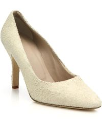 Helmut Lang | Distressed Suede Pumps | Lyst