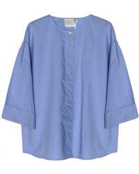 Giada Forte Cotton Oversize Shirt - Lyst