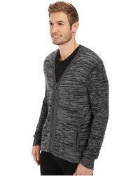 Calvin Klein Space Dye Cotton Sweater gray - Lyst