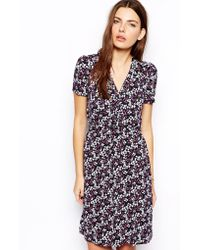 French connection Tea Dress in Francesca Floral Print - Lyst