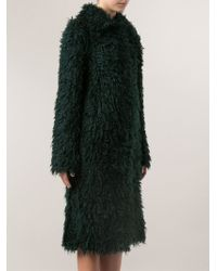 Lanvin G Long Coat - Lyst